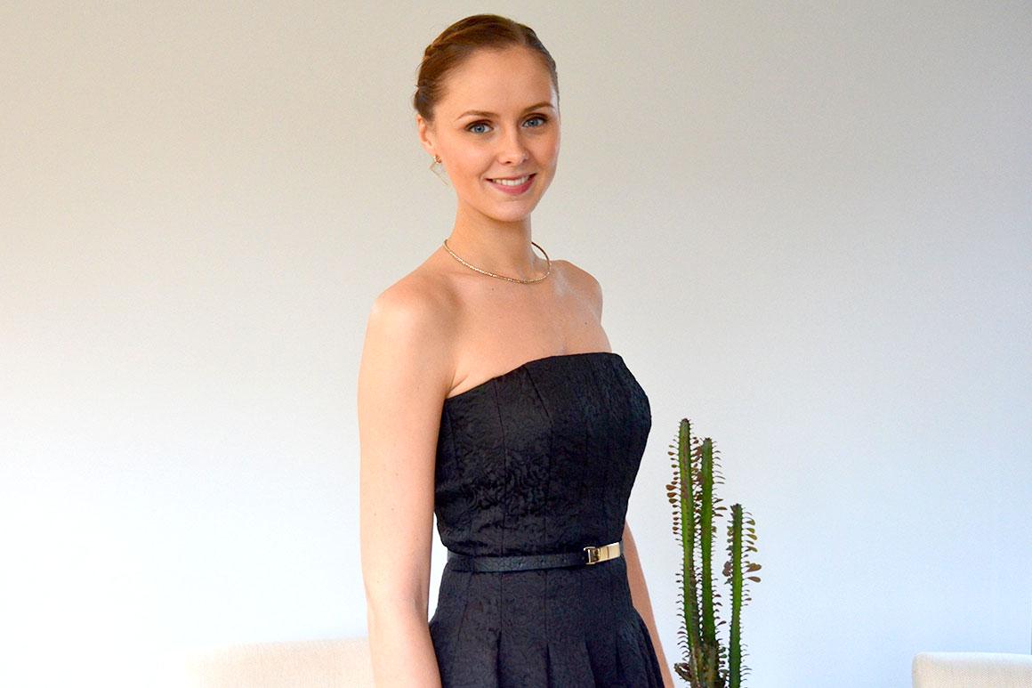Outfit: Little black dress