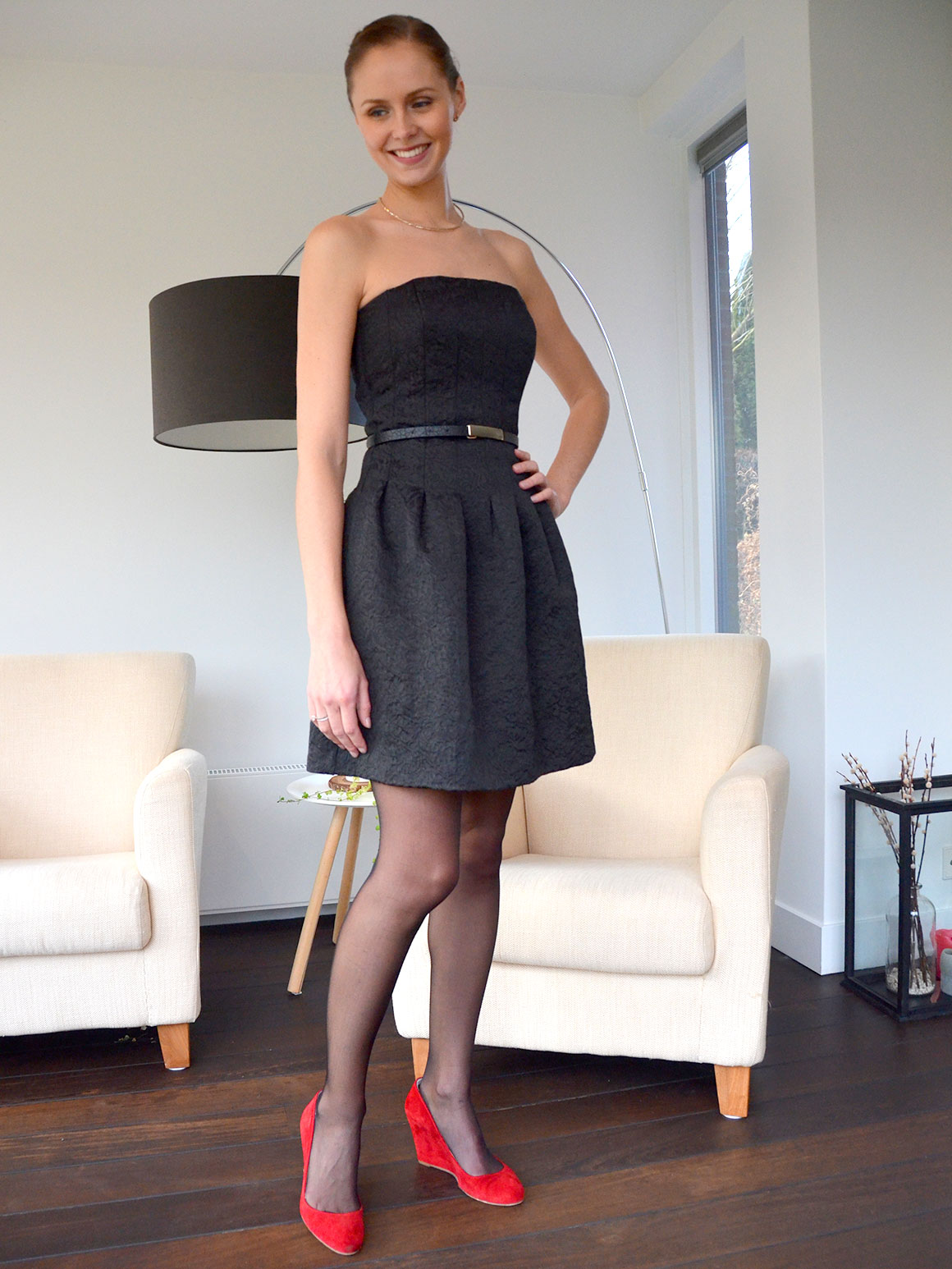 Outfit: Little black dress