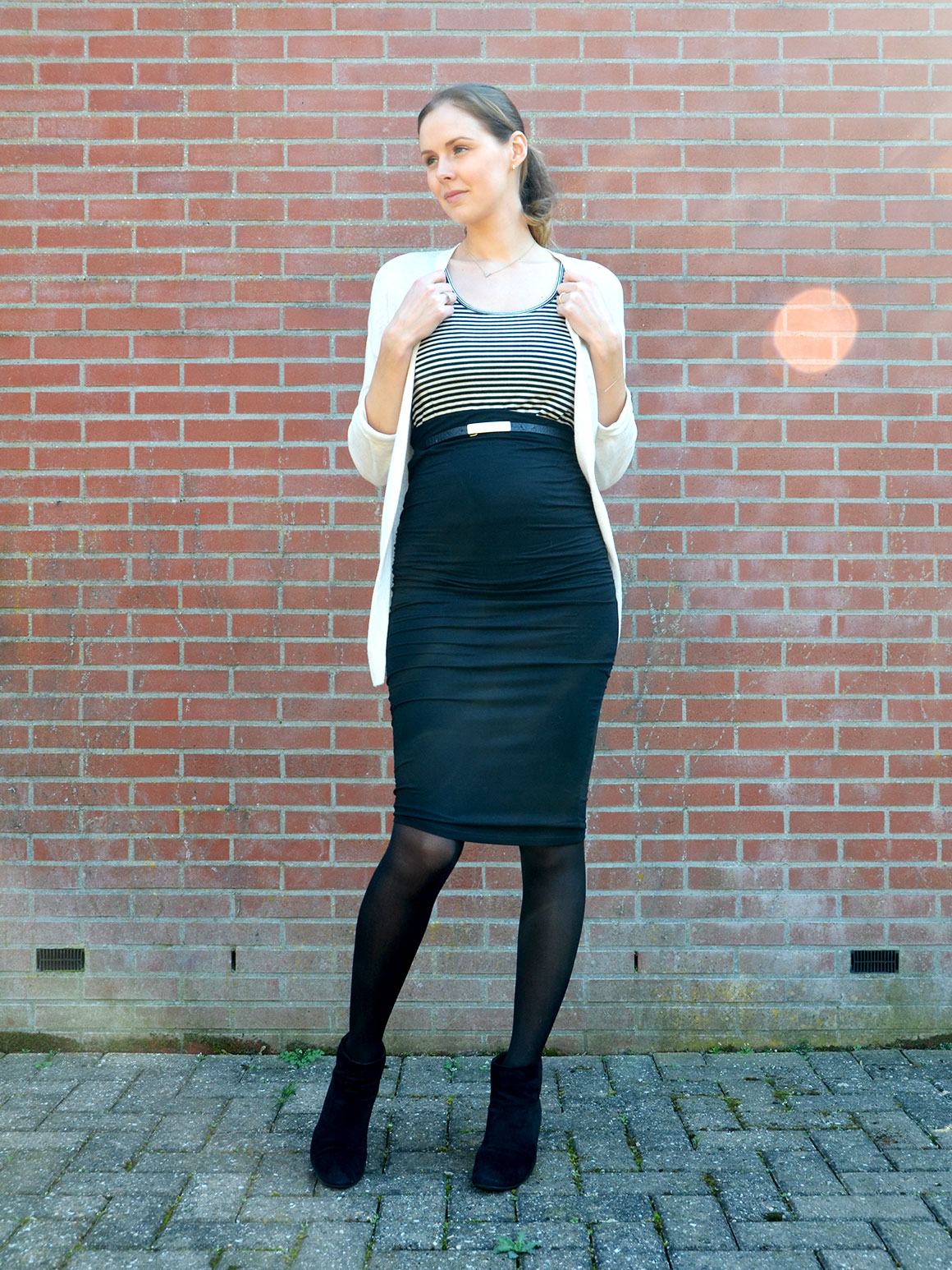 Outfit: Pencil skirt
