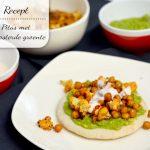 Pita's met avocado en geroosterde groente