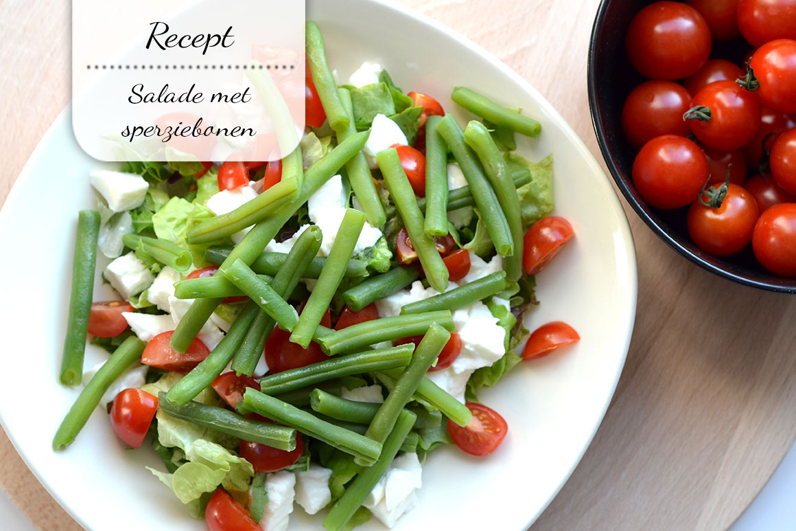 Salade met sperziebonen