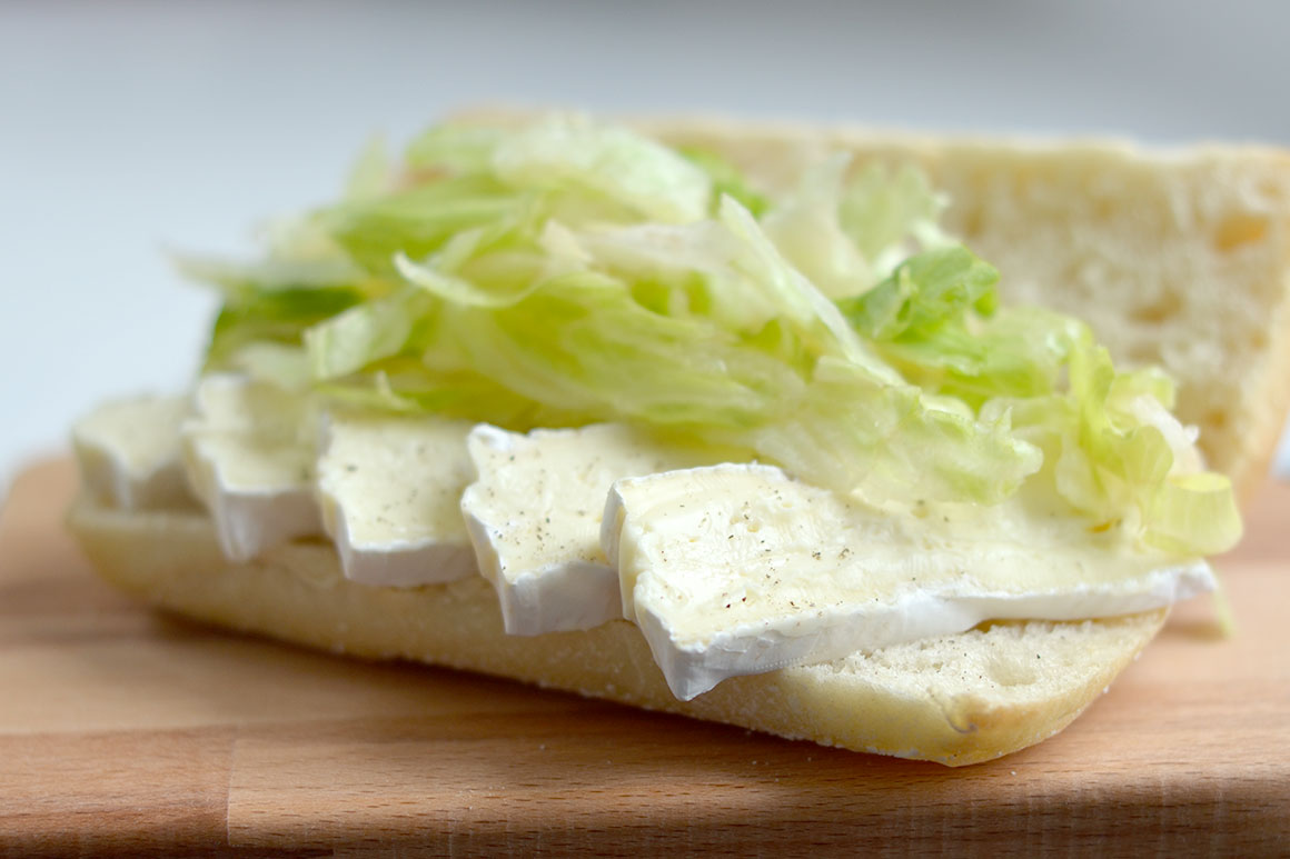 Variëren met een broodje brie