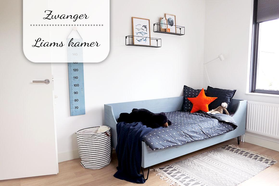 Zwangerschapsupdate #34: Liams nieuwe kamer