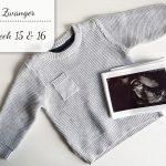 Zwangerschapsupdate #8: Week 15 & 16 (+vlog)